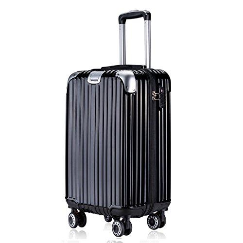 TTOvaligeria[TTOバリジェリア] スーツケース 軽量 静音 TSAロック搭載 ファスナータイプ 機内持ち込み(Mサ...