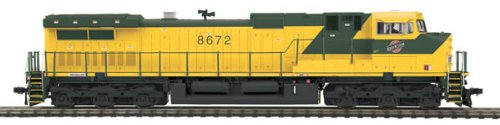 MTH MTH8022950 HO Dash-9 w/NMRA, C&NW #8672