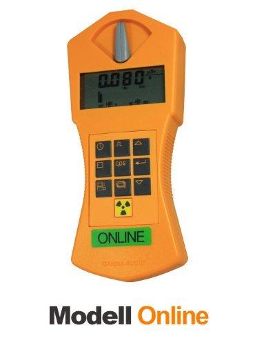 GAMMA-SCOUT® Geigerzähler, Radioaktivitäts-Messgerät ONLINE