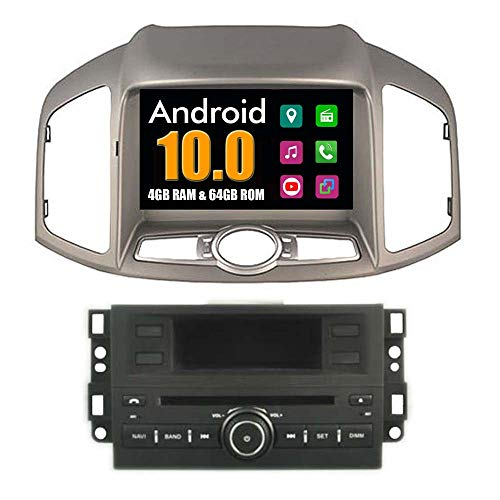 Roverone Quod Core Android System 8 Zoll Auto-DVD-Player für CHEVROLET CAPTIVA 2011 2012 2013 2014 mit Autoradio GPS Navigation Radio Stereo Bluetooth SD USB Spiegel Link Touch Bildschirm