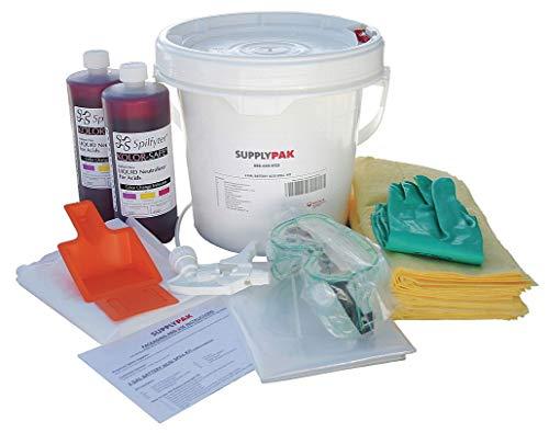 Battery Acid Spill Kit, 2 gal.