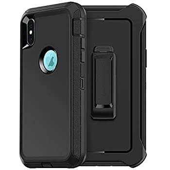FYSZBOX for iPhone XR Case,Triple Layer Shockproof Drop Proof Heavy Duty Full Body Rugged Protection Phone Case Cover for Apple iPhone XR