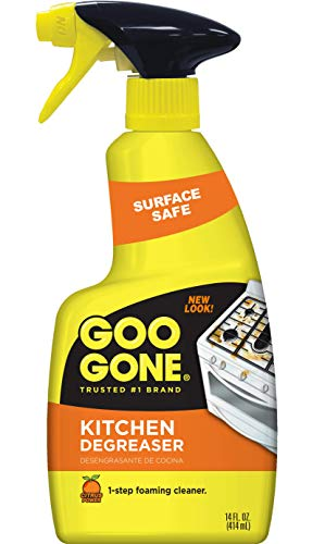Goo Gone Kitchen Degreaser - Removes Kitchen Grease, Grime and...