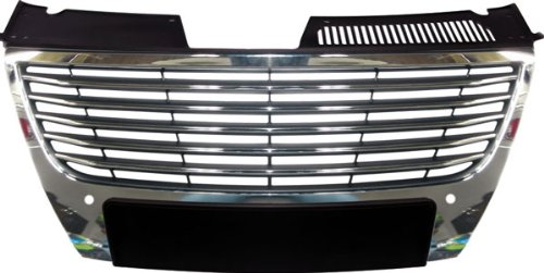 Carparts-Online 13235 Grill Kühlergrill für PDC chrom