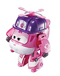 Transforming Rescue Dizzy transforms from toy helicopter to bot in just 10 easy steps Wearing her Rescue Riders attire, Dizzy is a pink rescue helicopter, and even though she's the smallest of the Super Wings team members, she's very strong and is th...