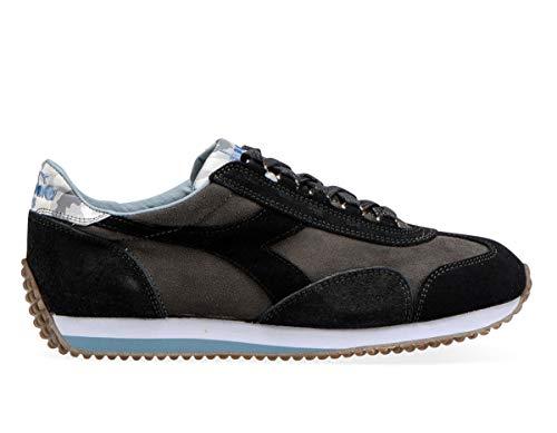 Diadora Heritage, Uomo, Equipe Evo Camo, Suede, Sneakers, Grigio, 44.5 EU