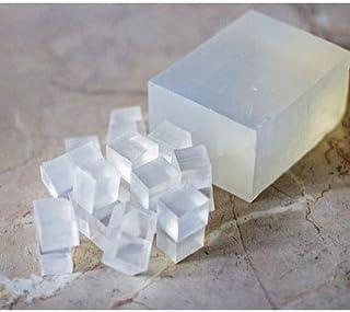 Karan Herbs Melt and Pour Transparent/Clear Glycerine Soap Base - No Paraben, SLS, SLES & Alcohol Free (500GM)