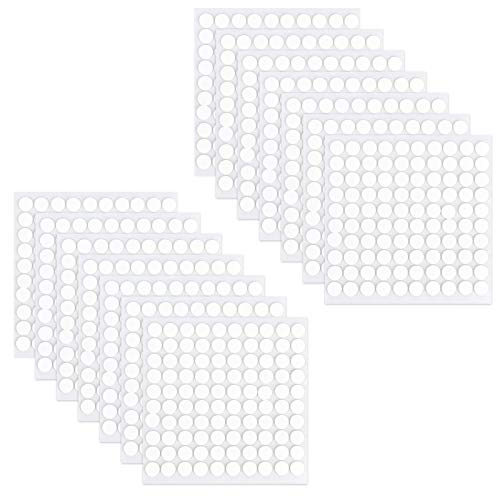2000 Pcs Poster Putty Adhesive Putty Round Sticky Poster Tacky Putty Reusable&Removable Wall Safe Mounting Putty Art Adhesive Stickers Multipurpose Dot Tape for Hanging Pictures Poster Photo Frames