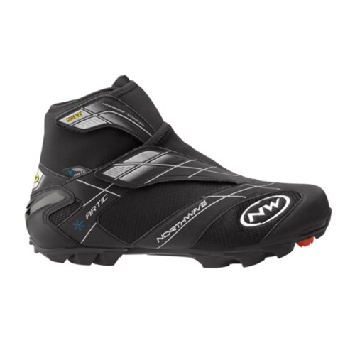 Northwave Celsius Artic GTX Shoe - Men's Black/Blue, 45.0