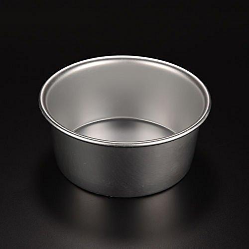 ONEVER Ronde en aluminium de cuisson Tin Moule Moule Pan Cake Sandwich Cuisine Bricolage 4Inch