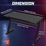 Zoom IMG-2 huracan scrivania ergonomica gaming pc