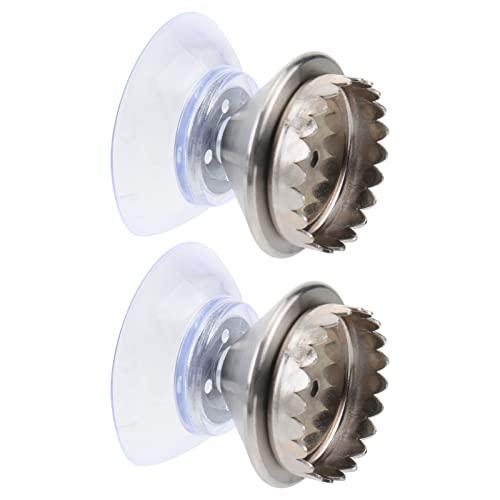 YARNOW Tenedor de Jabón Magnético de 2Pcs con de Jabón de Succión con de Jabón Montado en La Pared con Imán para Cocina de Baño