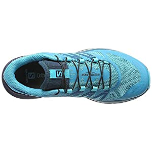 Salomon Women's Sense Ride Running Trail Shoes Blue Bird/Deep Lagoon/Navy Blazer 10.5