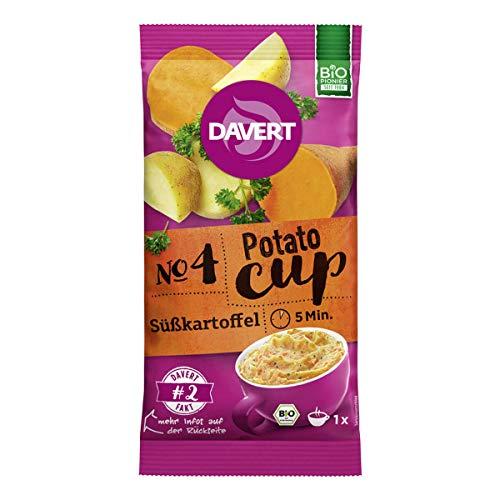 Davert - Potato-Cup Süßkartoffel - 57 g - 8er Pack