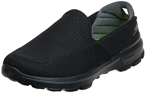Skechers Performance Men's Go Walk 3 Slip-On Walking Shoe, Black, 10.5 M US