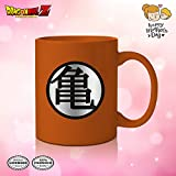 Dragon Ball Z Coffee Mug [ORANGE 16oz] Ceramic Anime Coffee Mug, DBS/DBZ Coffee Mug (OFFICIALLY LICENSED), By Just Funky