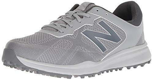 New Balance Men's Breeze Breathable Spikeless Comfort Golf Shoe, Grey, 10 D D US