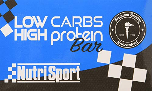 Nutrisport Low Carbs High Proteïne Choco Galleta 16 grendels, 1 stuks (1 x 1 stuks)