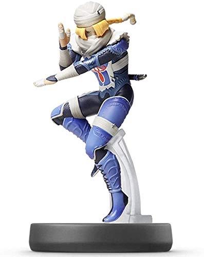 Yubingqin Super Smash Bros. Sheik Figurine!Super Smash Bros. Series Figure Figure Game Masterpiece Collectible Figura de Japón Importación (Wii U / 3DS / Switch)
