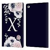 Head Case Designs Officiel Nature Magick Lettre X Aquarelle Fleur Monogramme 2 Coque en Cuir à...
