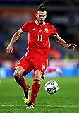 Generic Gareth Bale Wales Nationalmannschaft Fußball Plakat 10953 (A3-A4-A5) - A3