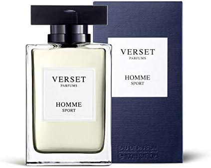 Verset Parfums Homme Sport Eau de Parfum 100ml Spray para Hombre