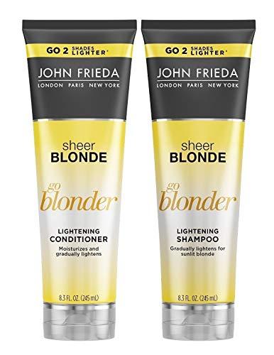 John Frieda Sheer Blonde Go Blonder Lightening Shampoo and...