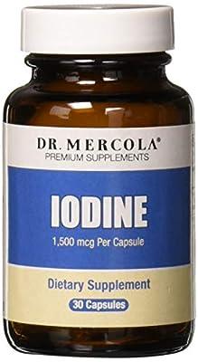 Dr Mercola Iodine, Gluten & GMO Free, 1.5mg, 30 Capsules from Dr Mercola