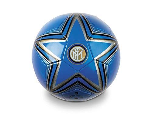 Pallone Inter Ufficiale Mondo in Cuoio Misura 5 Size F.C.Internazionale PALINCU13397