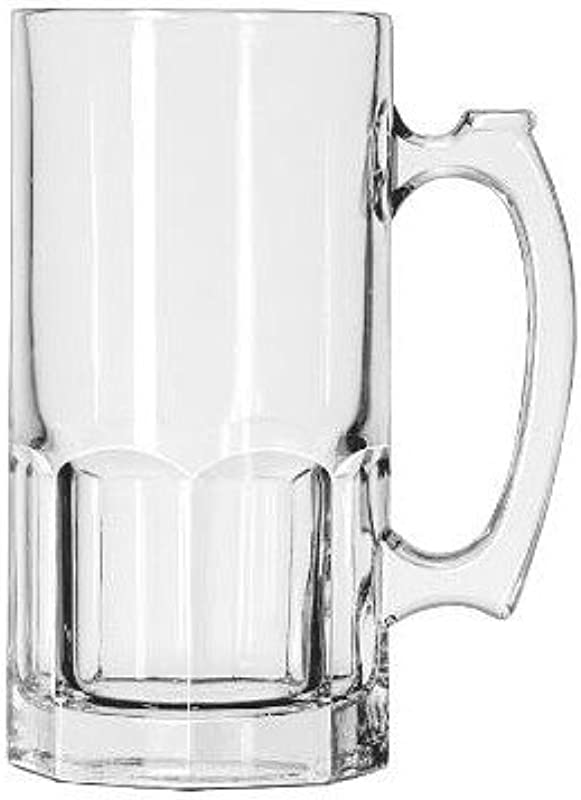 Libbey Glassware 5262 Super Mug 34 Oz Pack Of 12