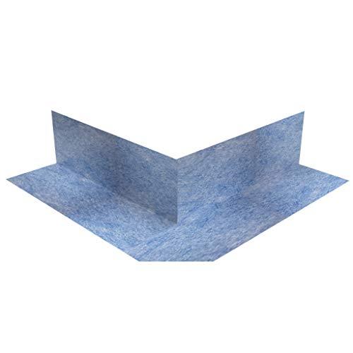 10 Stück doitBau Sanitär Dichtecke Außen, Abdichtung für Fliesen in Bad, Küche oder Dusche, blau, 105x105mm, 90° Eckabdichtung Außenecke