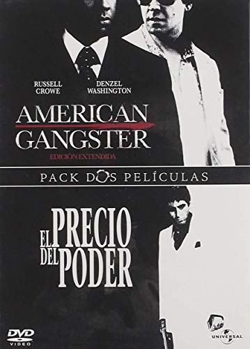DENZEL WASHINGTON / AL PACINO - AMERICAN GANGSTER / SCARFACE (2 DVD)