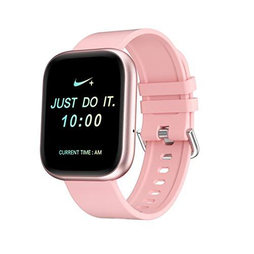 ZYY Relojes Inteligentes para Mujeres Y Hombres, Medición De Ritmo Cardíaco Bluetooth Llamada IP67 Pulsera Impermeable Smart Watch Reloj Deportivo Multifunción,A