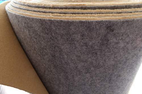 autix Teppich Meterware Autoteppich feiner Velour Stoff beige 170cm x 300 Rest