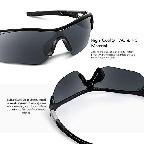 Bea Cool Occhiali da Sole Sportivi Polarizzati