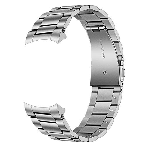 TRUMiRR Galaxy Watch 46mm Cinturino in Metallo, 22mm Metallo in Acciaio Inossidabile Banda di Ricambio per Samsung Galaxy Watch 46mm, Gear S3 Frontier Classic