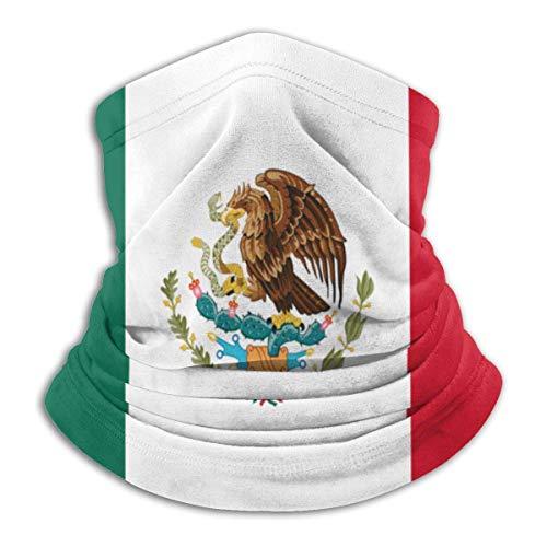 ghjkuyt412 Máscara de esquí con bandera mexicana para el cuello