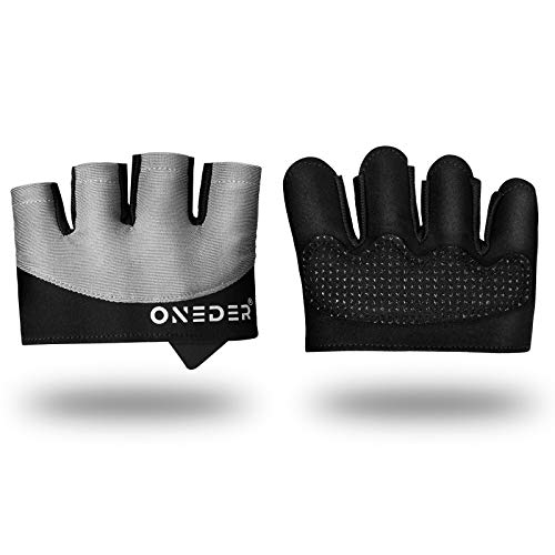 2021 Grip Workout Gloves for Women/ Men, 3mm Padding Gym Gloves for Weightlifting, Kettlebell, Pull-Ups, Row, Cross Training, WODs, Yoga and Gymnastics Gloves for Men and Women-NO Calluses