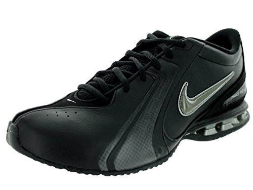 Nike Men's Reax Trainer III Synthetic Leather Training Shoe Black/Newsprint Size 13 M US