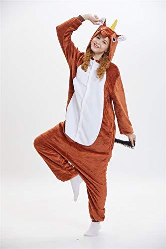 Nueva Navidad Dux Traje Bodies Parte De Shiba Inu Animal Mujeres Calientes De Invierno Pareja De Halloween Pijama Pijamas Cospaly Animales Hyococ (Color : 21, Size : XL(180-190cm))