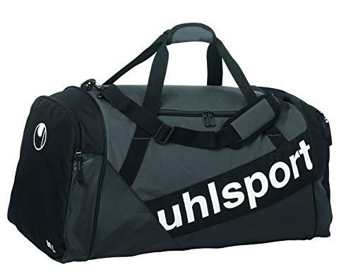 Uhlsport Progressive Line sporttas, schoudertas, 66 cm, 80 l, zwart/antraciet