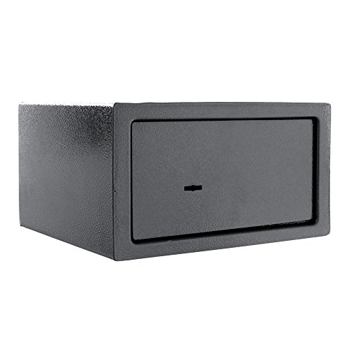 Rottner Saturn LE17 £1000 Cash-Rated Fire-Resistant Key Lock Safe for Home or Office – Double-Bit...