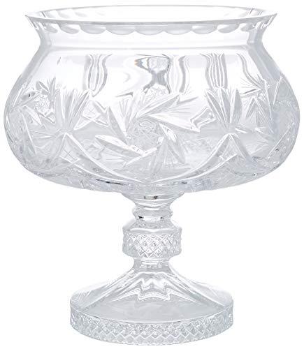 Crystaljulia Schale, Bleikristall, transparent, 18 cm