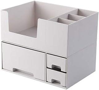 収納ボックス 化粧品収納 メイクボックス 大容量 アクセサリボックス 引き出し 仕切り 蓋なし 卓上収納 整理簡単 騒音なし 多容量 2段式 小物入れ ジュエリー収納 オシャレ 收納抜群 可愛い ギフト