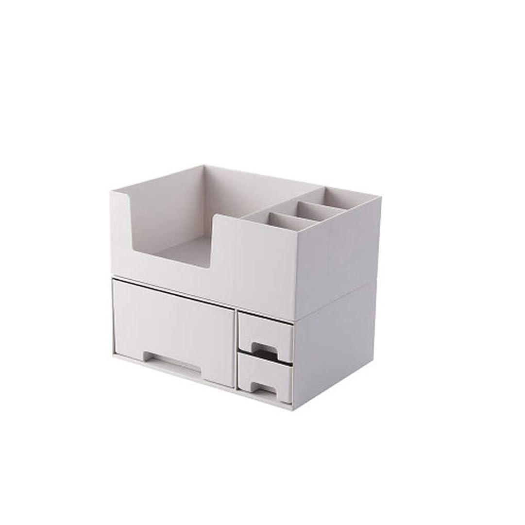 精度タイプライター容器収納ボックス 化粧品収納 メイクボックス 大容量 アクセサリボックス 引き出し 仕切り 蓋なし 卓上収納 整理簡単 騒音なし 多容量 2段式 小物入れ ジュエリー収納 オシャレ 收納抜群 可愛い ギフト