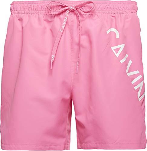 Calvin Klein Medium Drawstring Pantalones Cortos, Ciruela de azúcar, L para Hombre