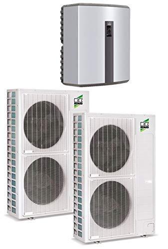 Remko Luft/Wasser Wärmepumpe - Duo-Split WKF180 | 25-32 kW