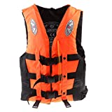 Om Anvay® Kids Swim Jackets & Preservers Adults Fishing Drifting Floating Vest Polyester Swimming...