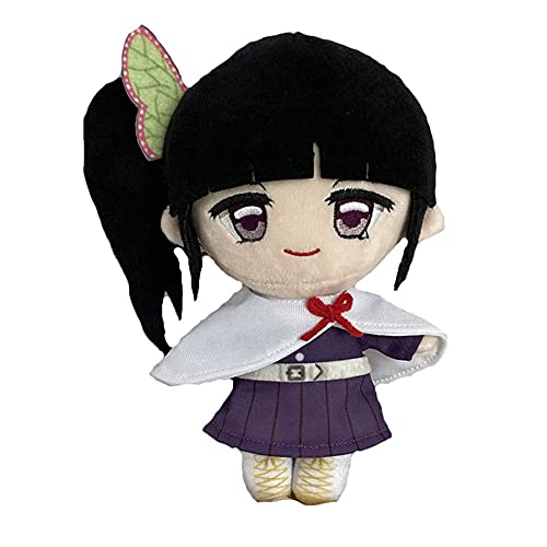 Anime Demon Slayer Plushies for Kanao Tsuyuri Plush Doll Toys Bftelly Kimetsu no Yaiba Tsuguko Stuffed Figure Plush Toys Anime Gifts for Teens Boys Girls