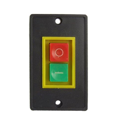 sourcing map Interruptor de botón pulsador QCS1 de encendido y apagado 2 kW para Herramienta Eléctrica